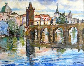 Travel Pro News Comments about Prague Art Escape Plein Air Painting Vacation/Workshop by Margaret St
