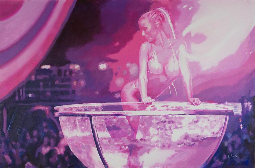 CARLOS GENICIO | GLASS DANCER SUPERMARTXE | 120 x 80cm | ORIGINAL