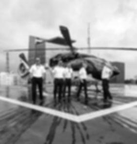 AIRBUS H145 com equipe CAF Táxi Aéreo