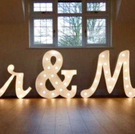 Mr. & Mrs. Letters