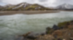 Landmannalaugar and Hekla volcano day tour, river crossing in Iceland, super jeep excursions: Landmannlaugar-Hekla,Hekla volcano: Super jeep excursions into the highlands of iceland