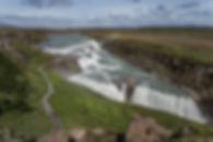 Golden circle jeep day tour, Gullfoss waterfall
