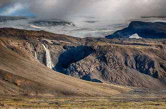 Borgarfjordur and Langjokull glacier day tour, Kaldidalur Valley, super jeep excursions in Iceland:West iceland and Langjokull glacier