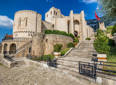 Travel into history - A visit to the city of Kruja