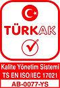 TÜRKAK AB-0077-YSK