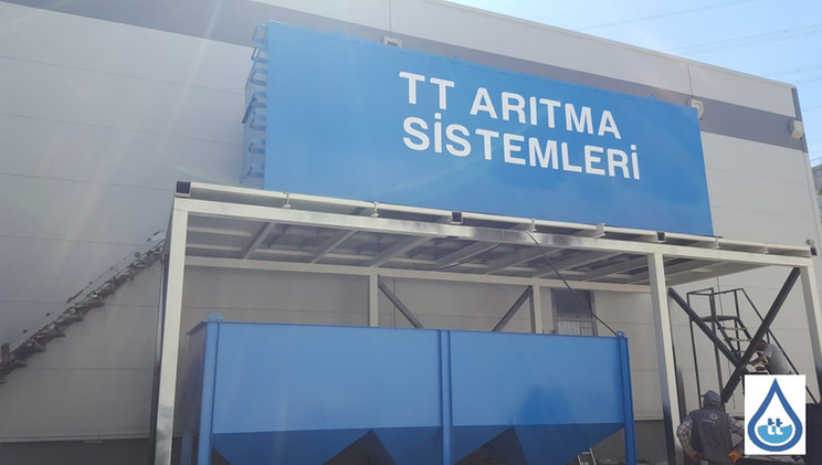 endüstriyel arıtma tesisi