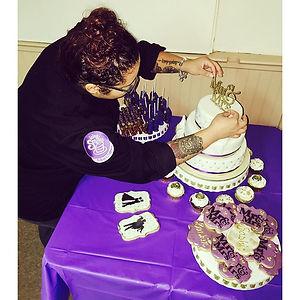 Philadelphia Bakery owner Sherica Hess hard at work.