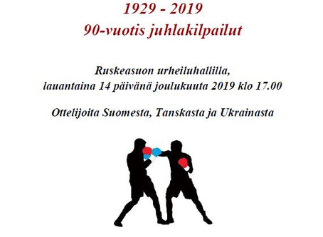 Viipurin Nyrkkeilijät 90 vuotta - tulokset ja kuvia