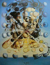 Galatea como esferas de Dalí