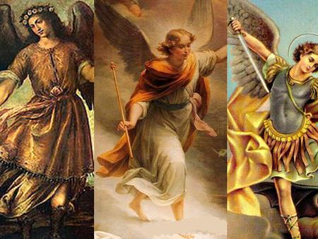 Hoy día de Miguel, Rafael y Gabriel hablamos de los Arcángeles.