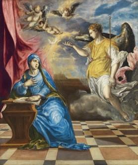 La Anunciación de El Greco