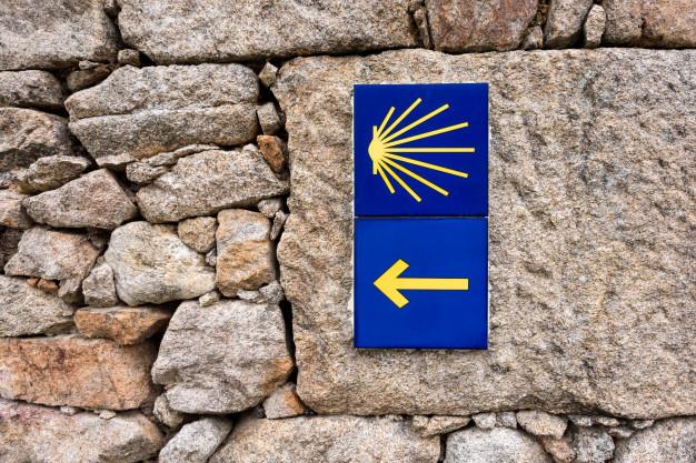 Icono de la concha del peregrino identificando el Camino