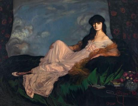 Retrato de la condesa Mathieu de Noailles de Zuloaga