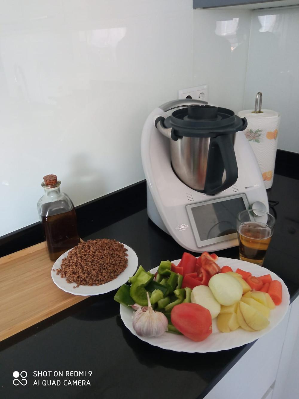 Ingredientes preparados