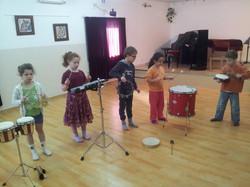 motion & drumming class