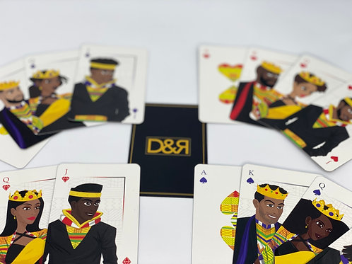 D&R Royale Families Playing Cards