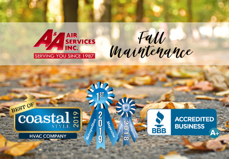 Schedule Your Fall Maintenance