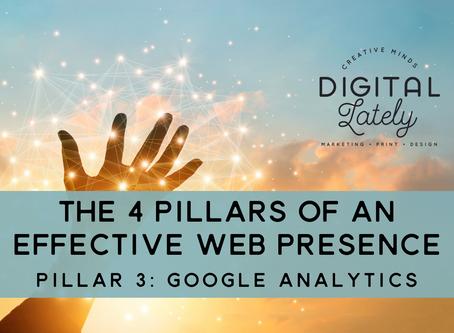 The Four Pillars of an Effective Web Presence: #3 - Google Analytics