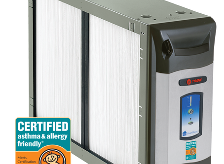 Trane CleanEffects Named First Whole Home Air Cleaning System to Earn asthma & allergy® Certific