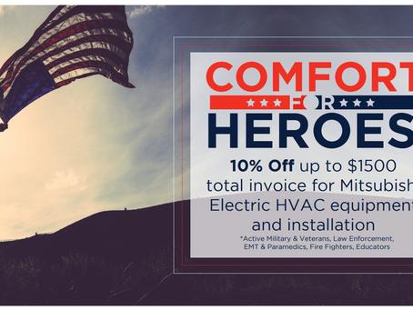 Comfort For HEROES!
