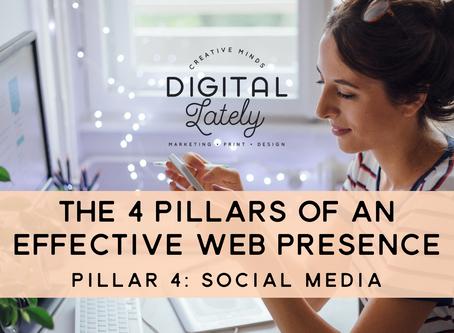 The Four Pillars of an Effective Web Presence: #4 - Social Media