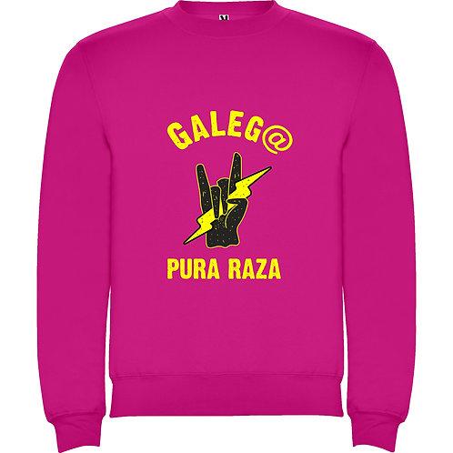 "Sudadera Unisex ""Galeg@ pura raza"""