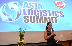 Rebecca Bustamante - Motivational Speaker, Corporate Trainer speaks at Asia Logistics Summit
