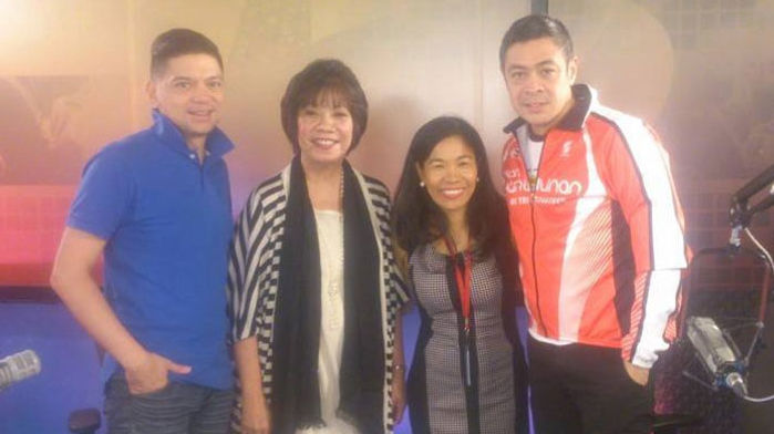 Rebecca Bustamante interview by Anthony Pangilinan