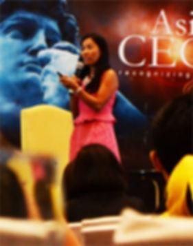 Rebecca Bustamante - Motivational Speaker, Corporate Trainer