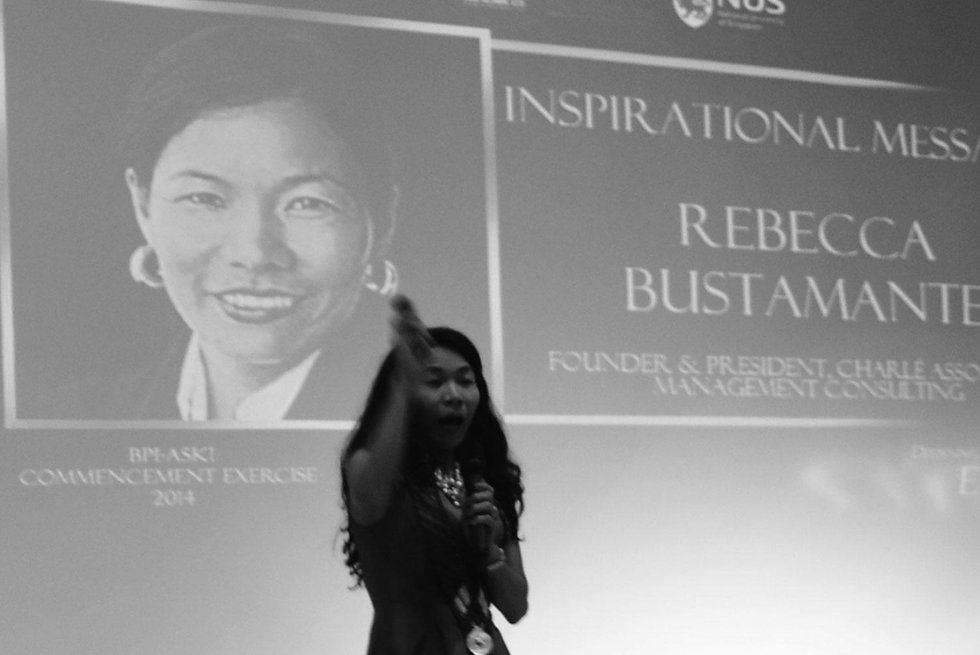 Rebecca Bustamante - Motivational Speaker, Corporate Trainer