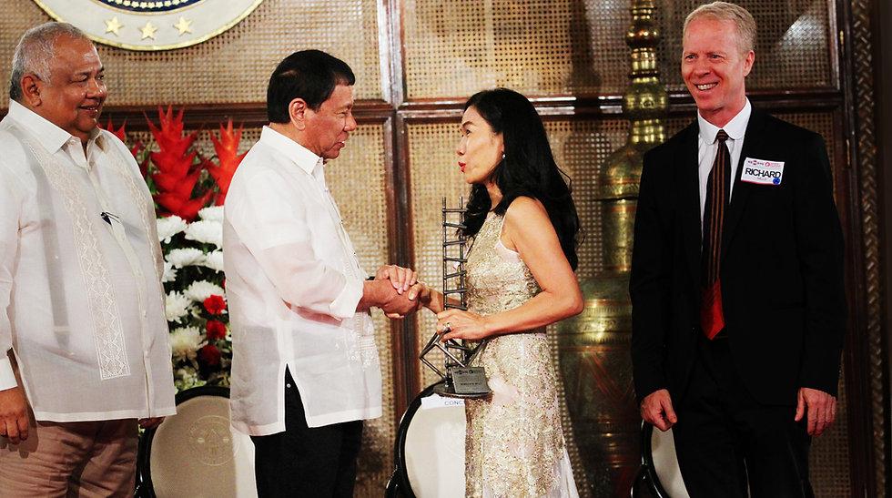 Rebecca Duterte President award.jpg