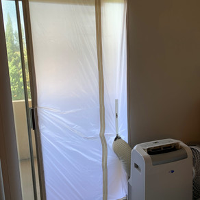 Must-have Door Cover for Portable A/C Units