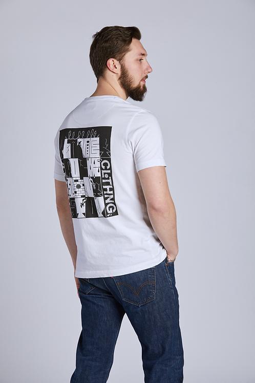ART PRINT Shirt - White