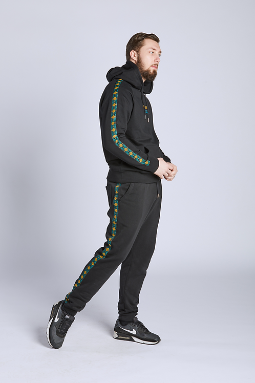 TRACKSUIT - Green   Yellow