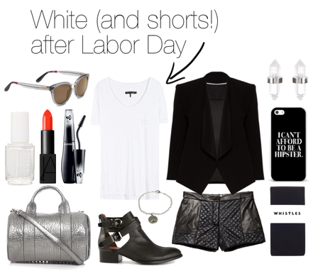 Iconic Style: White After Labor Day… The Tee Shirt Edition