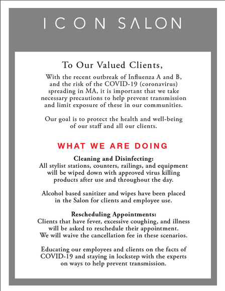 To Our Valued Clients