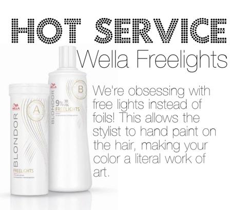 Hot Service: Wella Freelights