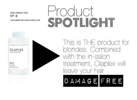 Product Spotlight: Olaplex Take Home Treatment