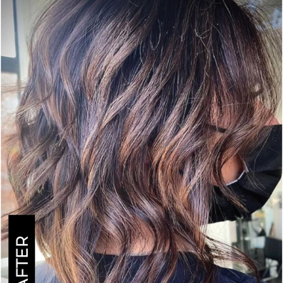 Perfect fall hair
