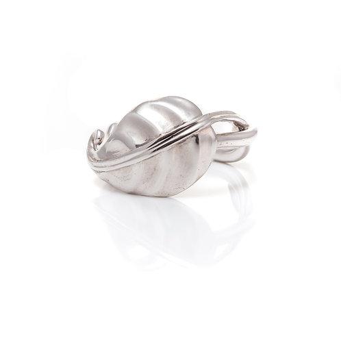 Hosta Leaf Ring - Sterling Silver