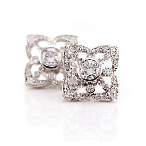 Diamond Earring Frames