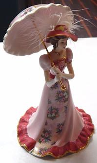 Lena Liu Elegant Era Porcelain Bell