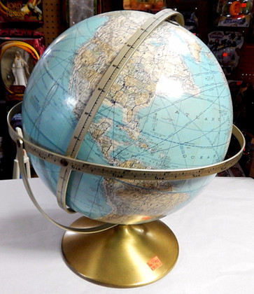 Retro 1966 Multi-axis Globe