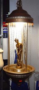 Vintage Greek Goddess Rain Lamp
