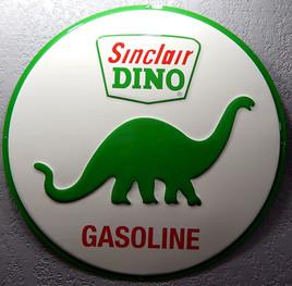 Large Reproduction Sinclair Gasoline Metal Sign