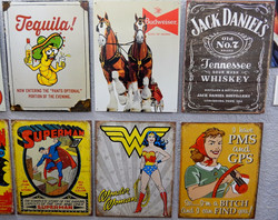 Officially Licensed Metal Signs