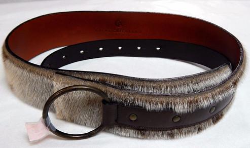 Great Greenland Genuine Fur Belt