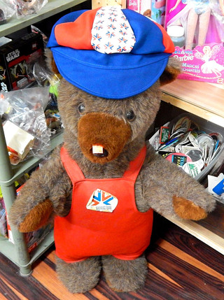Large 1978 Commonwealth Games Bear
