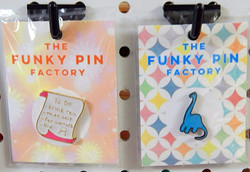 The Funky Pin Factory Enamel Pins