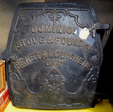 Cast Iron Dominion Stove & Foundry Door